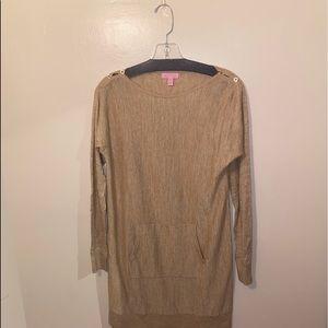 RARE Lilly Pulitzer long sleeve dress+pocket
